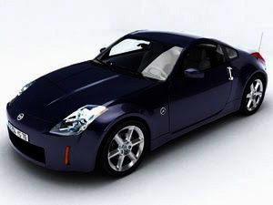 luxury Nissan 350z car rate class