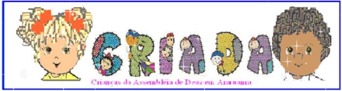 Escola Bíblica Dominical Infantil -  Araruama  - RJ - MIN.INFANTIL