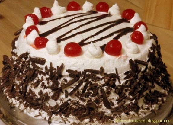 Images Of Birthday Cake Black Forest : Some Salt... To Taste!: Black Forest Cake