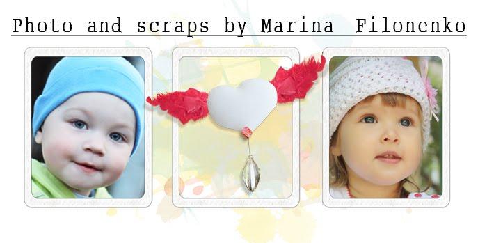 Photo and scraps by Marina Filonenko