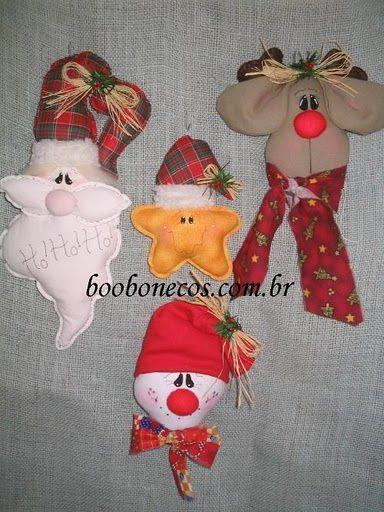 Navidad Moldes Faciles