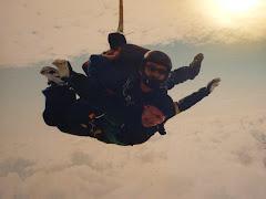 När jag fyllde 50 fick jag ett fallskärmshopp i present