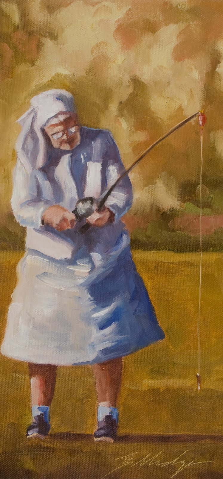 Some texas artists like to paint great aunt tee 2 by for Lost texas fishing license