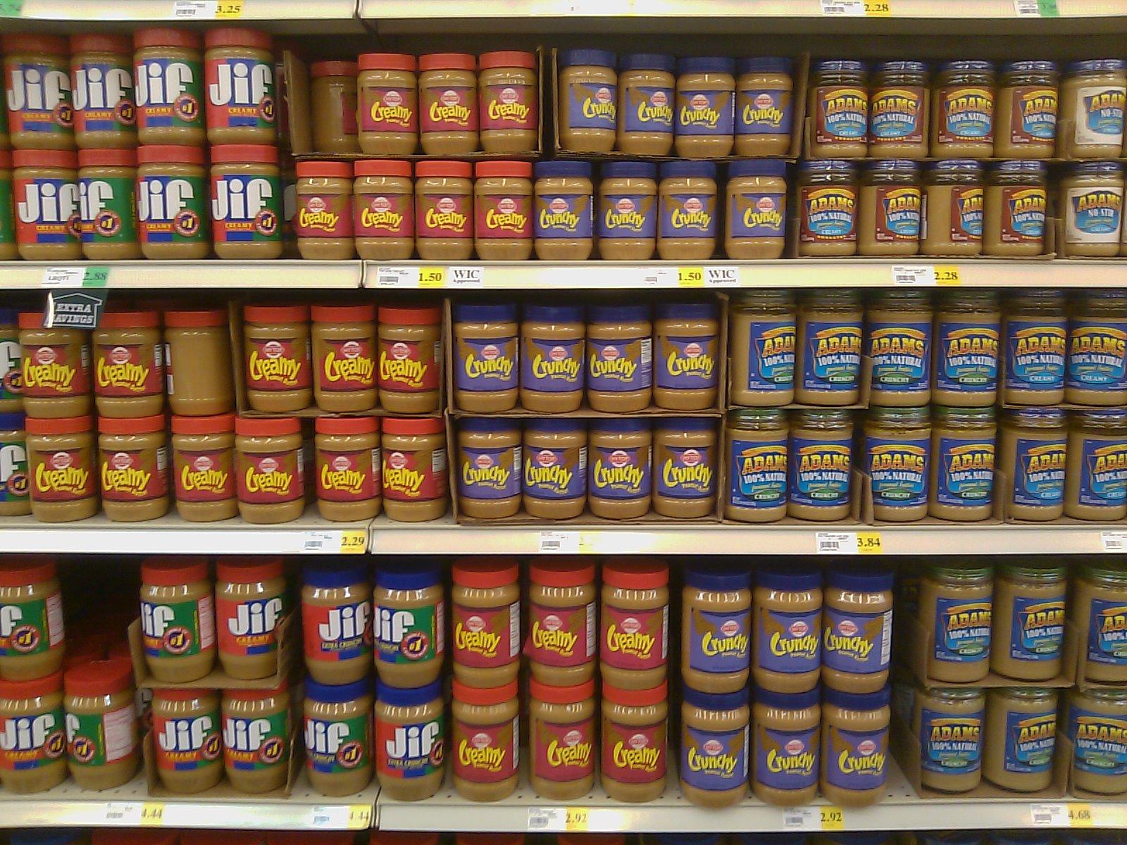 Peanut Butter.....