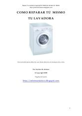 Como Reparar tu lavadora