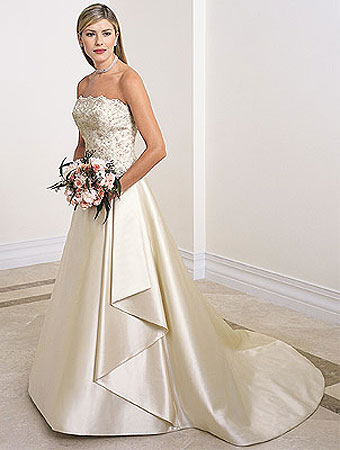 wedding dresses: young wedding