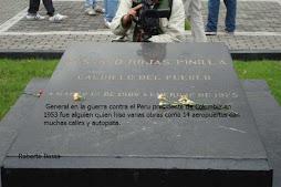 Tumba. General Gustavo Rojas Pinilla