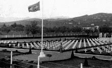 Cemitério dos soldados brasileiros mortos em serviço. Pitoia - Itália.
