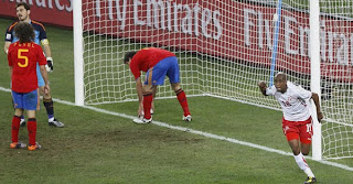 Kekalahan Pertama Spanyol dari Swiss