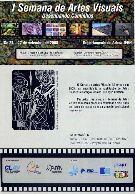 I SEMANA DE ARTES VISUAIS NO DEART-UFRN