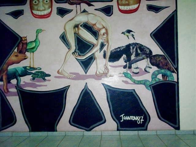 Memória Virtual: Mural de João Antônio-1987