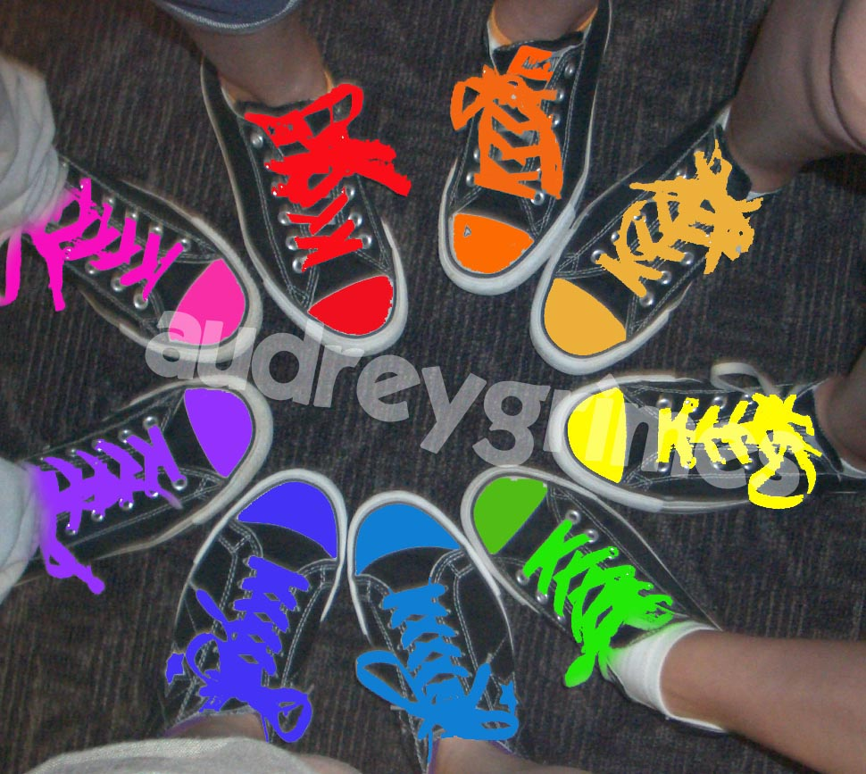 how to change the color of your converse