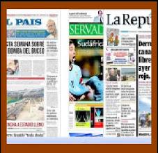 Todos los medios de la prensa diaria del Uruguay