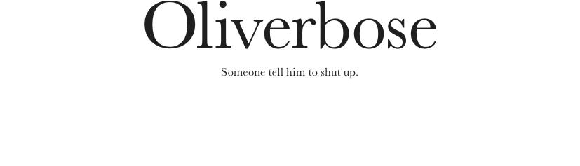 Oliverbose