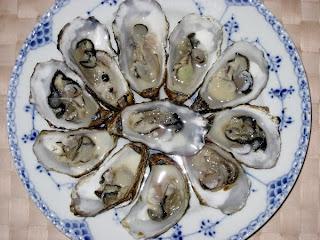hvor længe kan østers holde sig