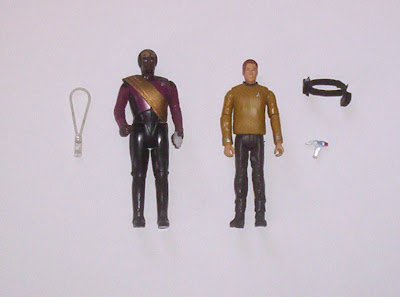 Galoob new Star Trek action figure comparison
