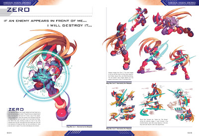 Mega Man Zero Official Complete Works sample