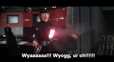 Star Wars with Wookiee subtitles