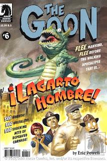 The Goon Lagarto Hombre cover