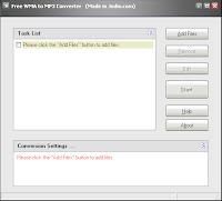 Jodix WMA to MP3 converter screenshot