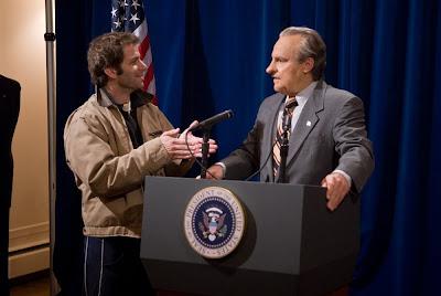 Watchmen's version of Richard Nixon