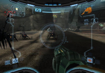 Metroid Prime 2 screenshot: Battle with Ing