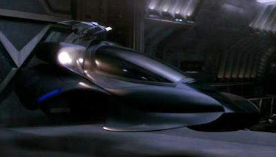Scorpion-class shuttle from Star Trek: Nemesis