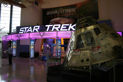 Star Trek: The Exhibition entrance