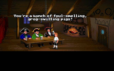 Secret of Monkey Island - Scumm Bar