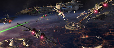 Battle over Coruscant