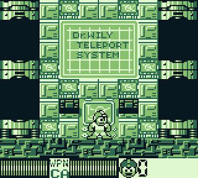Teleporting hatches in Mega Man: Dr. Wily's Revenge