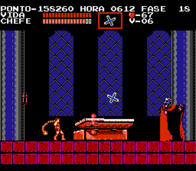 Castlevania in Portuguese - Battle with Dracula