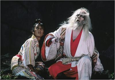 Ran Hidetora and the jester