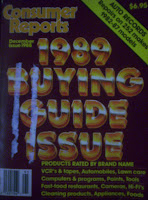 Consumer Reports 1989 Buying Guide