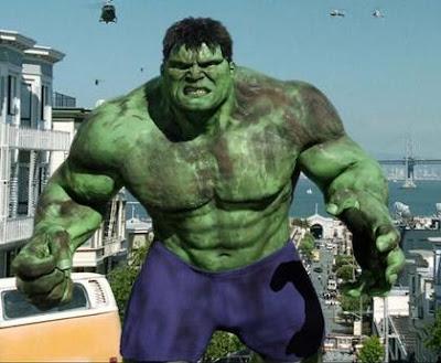 CGI Hulk