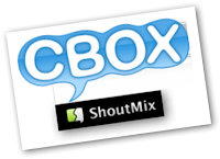 Cbox and Shoutmix Best Shoutbox widget own blog