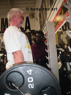 DR. PAUL GIBNEY TRAINING AT RR'S MASTER CLASS ● www.robbyrobinson.net//anabolic-pack.php ●