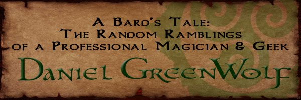 Celtic Magician Daniel GreenWolf & his +5 Tome of Idiocy