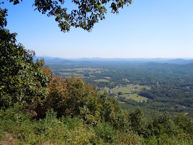 The view from up here (Blue Ridge Mountains, VA)