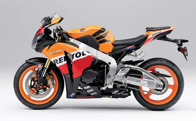 Tops Speed  2011 Honda CBR1000RR Repsol Edition