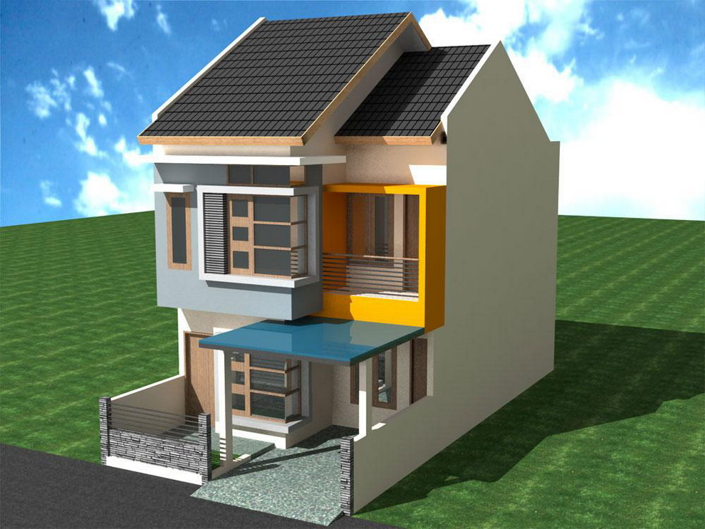 Two floor minimalist house design home caption 2 floor house