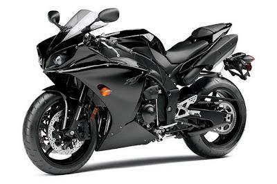 2011-Yamaha YZFR1 black
