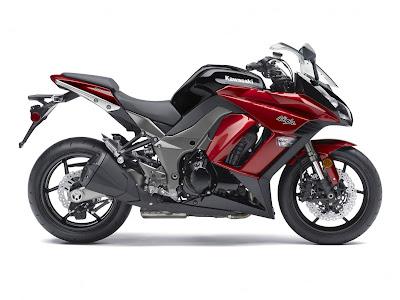 2011 Kawasaki Ninja Z-1000 red