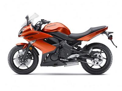 Kawasaki-Ninja650R Burnt Orange