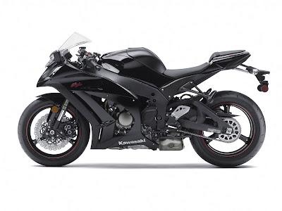 2011 Kawasaki Ninja ZX10R black
