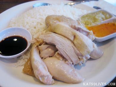 Kat\'s 9 Lives: Savoy Kitchen : My First Hainan Chicken Ever! ^_^