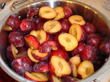 summer plums for jam