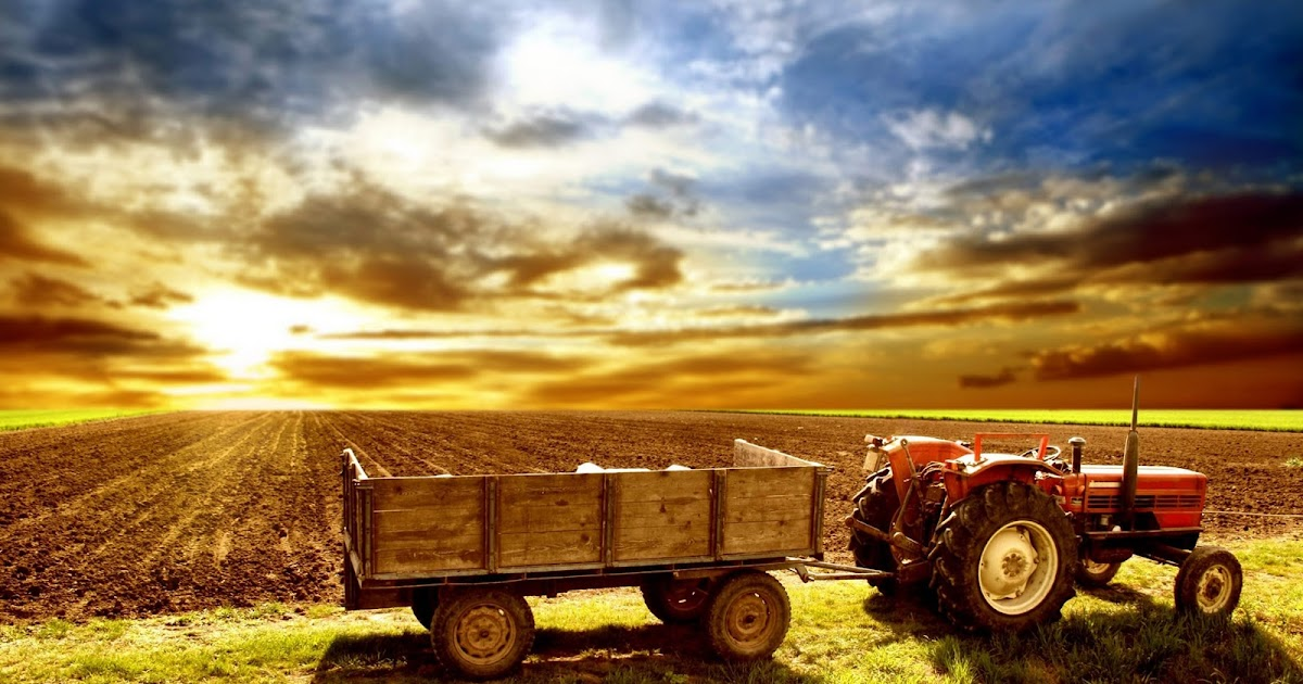 Hd Wallpaper Farm Traktor Full Hd Wallpaper