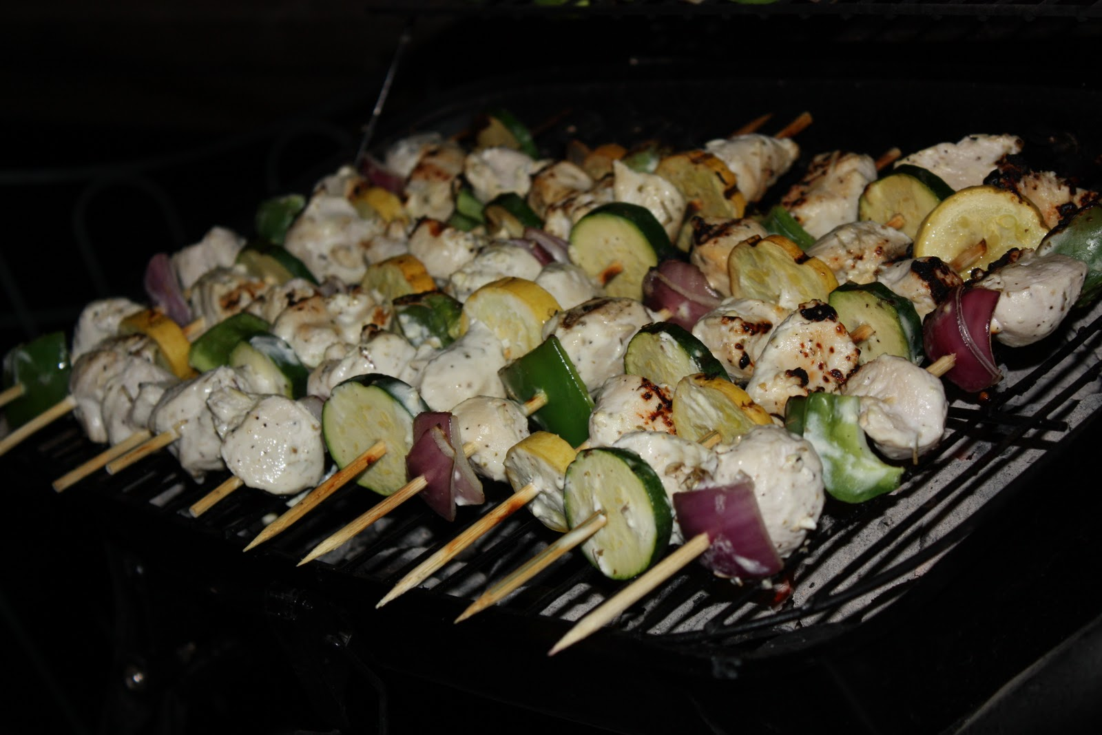 Marinated Greek Chicken Kabobs - Homemade Toast