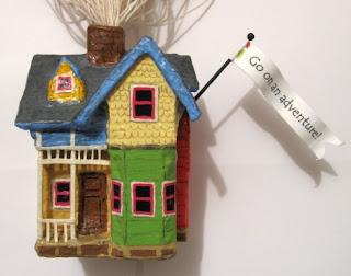 The model maker up house